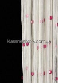 Квадратный стеклярус KVS-1+20