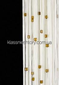 Квадратный стеклярус KVS-1+16