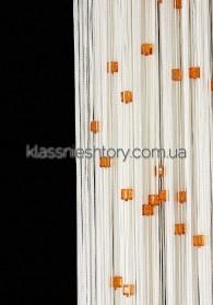 Квадратный стеклярус KVS-1+3