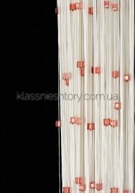 Квадратный стеклярус KVS-1+5